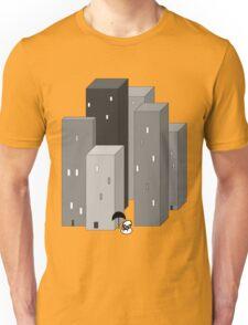 RAIN MAN VERSUS SKYSCRAPERS Unisex T-Shirt