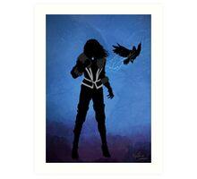 'The Witcher' - Yennefer Art Print