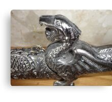 dragon sword Canvas Print