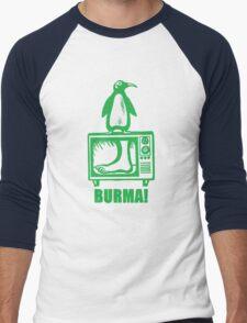 "Monty Python - ""BURMA!"" Men's Baseball ¾ T-Shirt"