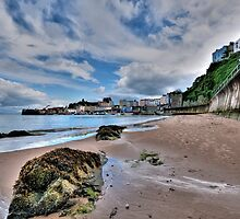 North Beach Tenby Pembrokeshire 2 by Steve Purnell