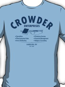 Crowder Enterprises (Navy) T-Shirt