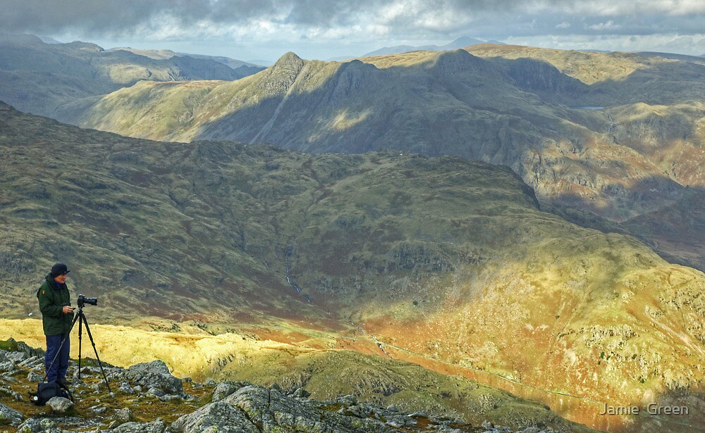 The Old Man Of Wetherlam by Jamie  Green