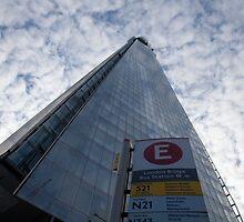 The Shard with good transport links! by DJ-Stotty
