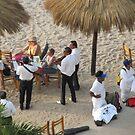 Mariachis playing at the beach - Mariachis tocando en la playa, Puerto Vallarta, Mexico by PtoVallartaMex
