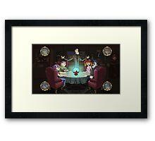 The Attuned: Art Screen Framed Print
