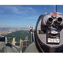 Top of the rock  Photographic Print