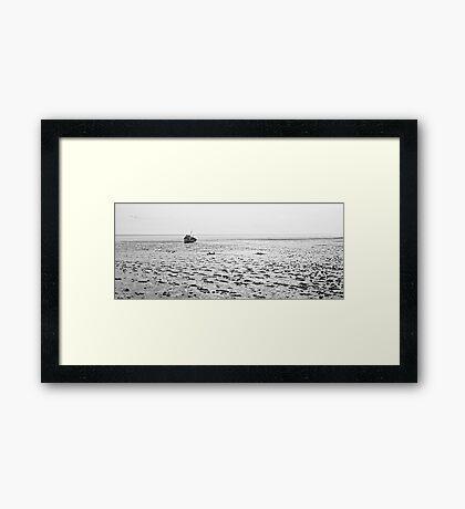 Low Tide 02 - Lytham St Annes, Lancs, UK Framed Print