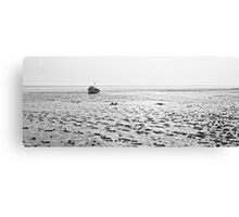 Low Tide 02 - Lytham St Annes, Lancs, UK Canvas Print