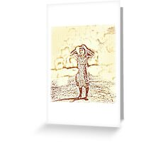 Holland Girl Greeting Card