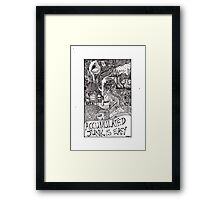 accumulated junk is easy Framed Print