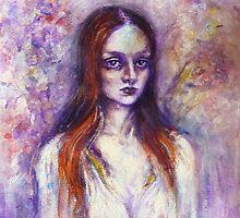 """Flowering cherry (Waiting for love)"" by Tatjana Larina"