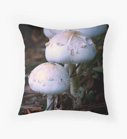 Vanilla Cups Throw Pillow