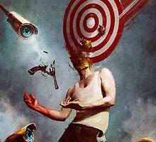 DEMOLISHED / THE TARGET by Bastien Lecouffe Deharme