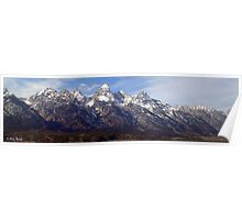 The Grand Tetons Poster