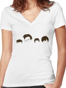 The Sound Of The Smiths Women's Fitted V-Neck T-Shirt