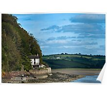 The Boat House at Laugharne Carmarthenshire Poster