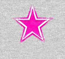 Pink Star for Dallas Fans Women's Fitted V-Neck T-Shirt