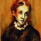 """""""Young lady"""" by Tatjana Larina"""