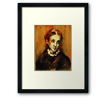 """""""Young lady"""" Framed Print"""