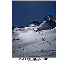 vallee blanche Photographic Print