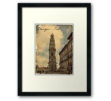 Clérigos - Porto Framed Print