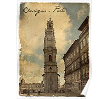Clérigos - Porto Poster