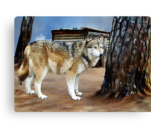 The Spirit of the Wolf Canvas Print