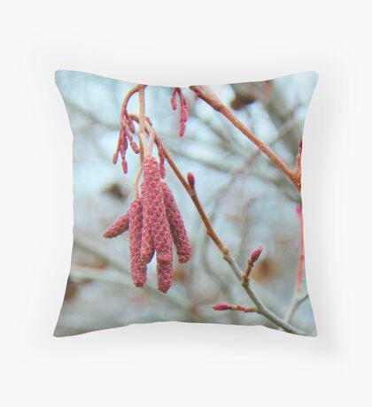 Alder Flowers Throw Pillow