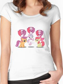 Cutie Mark CRUSADERS! Women's Fitted Scoop T-Shirt