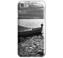 BOAT SEA SUNLIGHT AND HARBOR VINTAGE RETRO iPhone Case/Skin