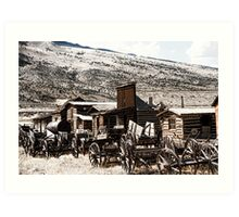Old West Town Art Print