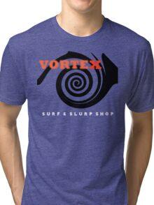 Vortex Surf & Slurp Shop 1 Tri-blend T-Shirt