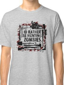 Hunting Zombies Classic T-Shirt