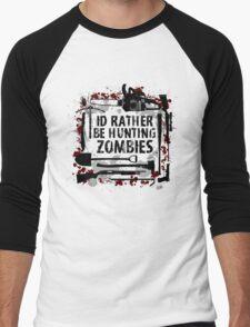 Hunting Zombies Men's Baseball ¾ T-Shirt