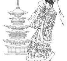 Pagoda Princess by redqueenself