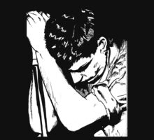 Ian Curtis 2 by Michael  Webb