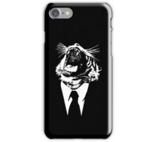 reservoir tiger : black tee edition iPhone Case/Skin