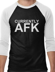 Currently AFK (Reversed Colours) Men's Baseball ¾ T-Shirt