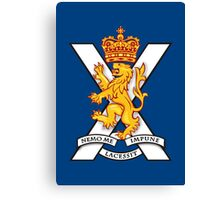 Royal Regiment of Scotland - British Army Canvas Print