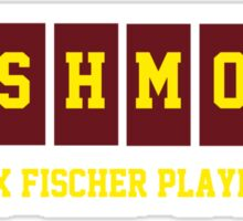 Rushmore Max Fischer Players Sticker
