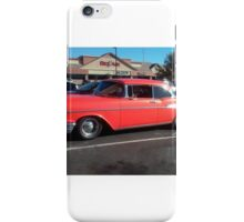 '57 Chevy Bel-Air in front of business named Bel Air!  iPhone Case/Skin