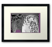 CALLIGRAPHIC 2 Framed Print