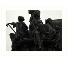 guarding ladies Art Print