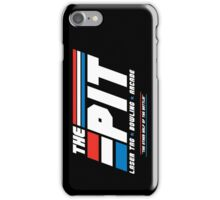 Red Lasers vs. Blue Lasers iPhone Case/Skin