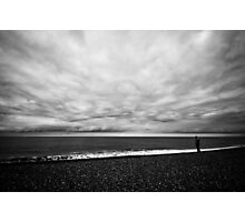 Watching Waves Photographic Print