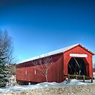 Covered Bridge by trussphoto