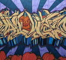 Halloween Graffiti by Samson50