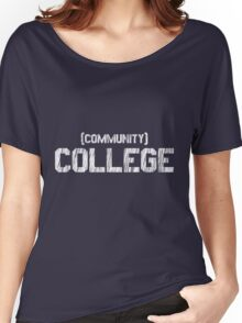 (Community) COLLEGE Women's Relaxed Fit T-Shirt