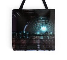 Colliding Spaces Tote Bag